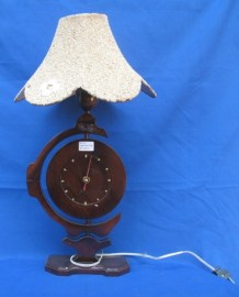 Clock with lamp-S236