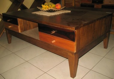 Coffee table with drawers-J97