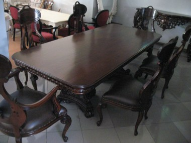Dining table 6 seater-J62