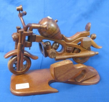 Motorcycle with penholder-S124